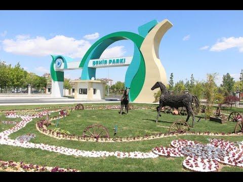 Konya'nın En Büyük Parkı - Karatay Şehir Parkı 343.300 m2 alanda Konya'nın en büyük parkı.