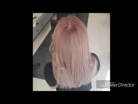Gelbe Haare gerettet. Selber blondiert, sandiges blond mit leichtem fliederton