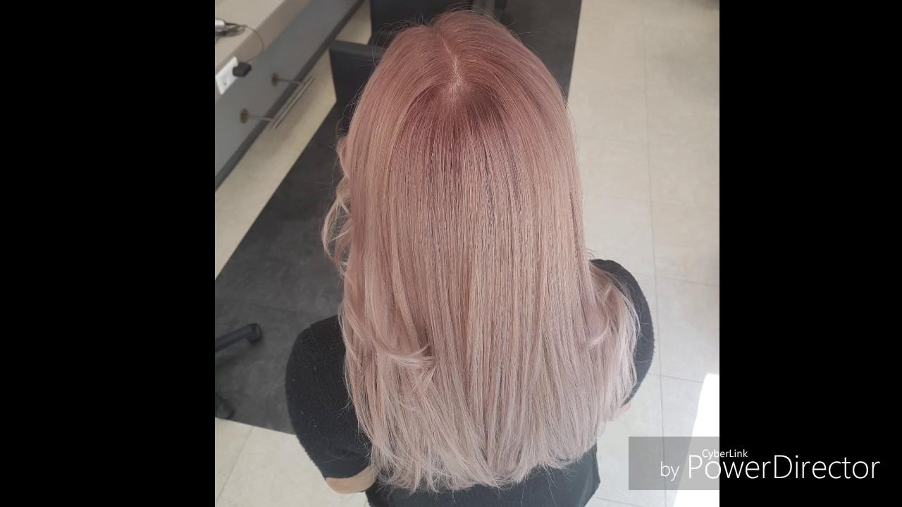 Gelbe Haare Gerettet Selber Blondiert Sandiges Blond Mit Leichtem