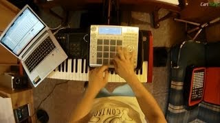 carl rag mpc studio finger drumming here for you