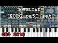Style Korg Pa50 Untuk Org 2018,download Disini