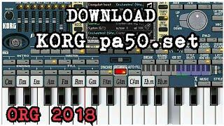 style korg pa50 untuk org 2018download disini