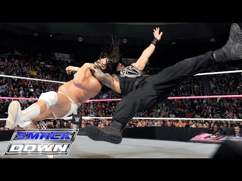 Roman Reigns vs. Bo Dallas: SmackDown, Oct. 15, 2015