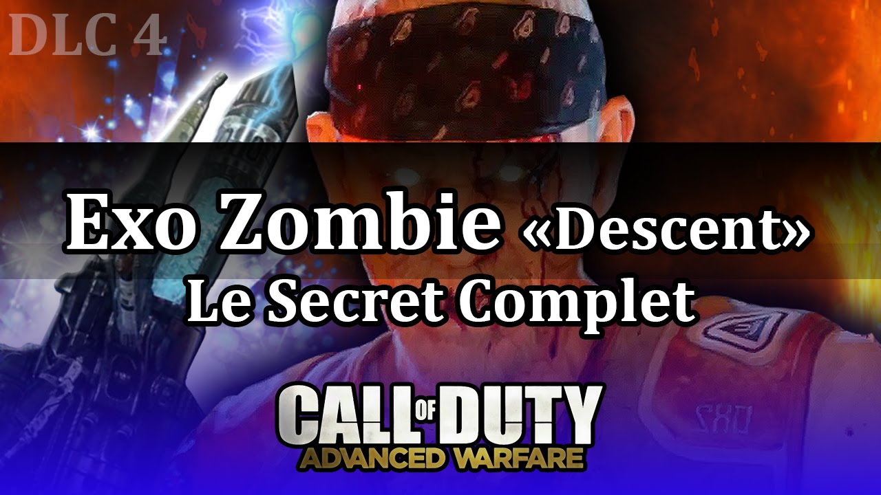 COD AW Exo Zombie Descent Le Secret Complet  TUTO Easter