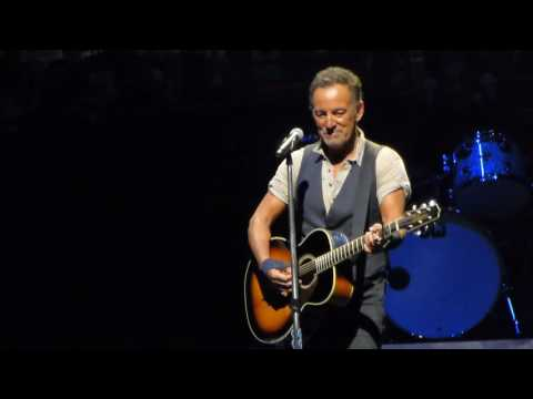 Bruce Springsteen Long Walk Home (Acoutstic) Pittsburgh Consol Energy Arena September 11 2016