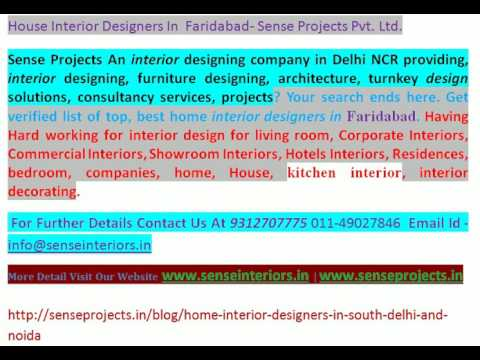 House Interior Designers In Faridabad Youtube