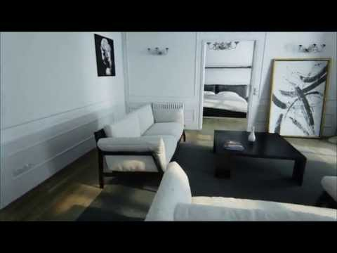 Unreal Engine 4 - Unreal Paris Virtual Tour Demo [60FPS]