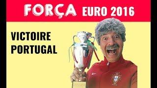 PORTUGAL EURO 2016 ⚽️ VICTOIRE PORTUGAL - JOSÉ CRUZ