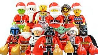 LEGO Holiday Batman Star Wars Joker Santa Clause Grinch & Jack Skellington Unofficial Minifigures