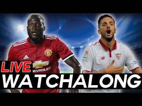 Live FAN WATCHALONG Stream: Manchester United vs Sevilla - Champions League Round of 16 Leg 2