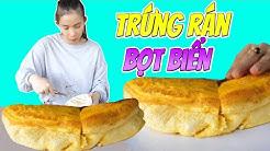 TXT TV | THỬ THÁCH LÀM TRỨNG RÁN BỌT BIỂN KOREA ĐANG RẤT HOT | Souffle Omelette cực HOT bên Hàn Quốc