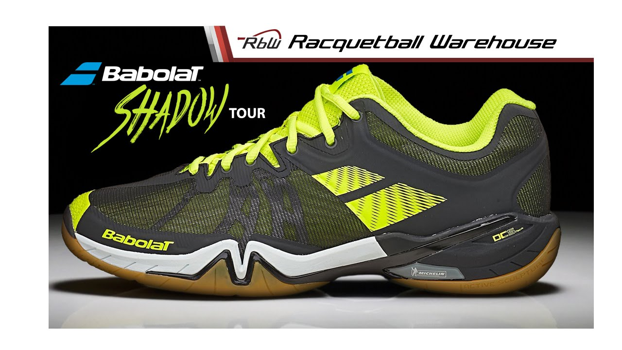 57cbd13a85f Babolat Shadow Tour Racquetball Shoes  Exclusively at Racquetball Warehouse  - YouTube