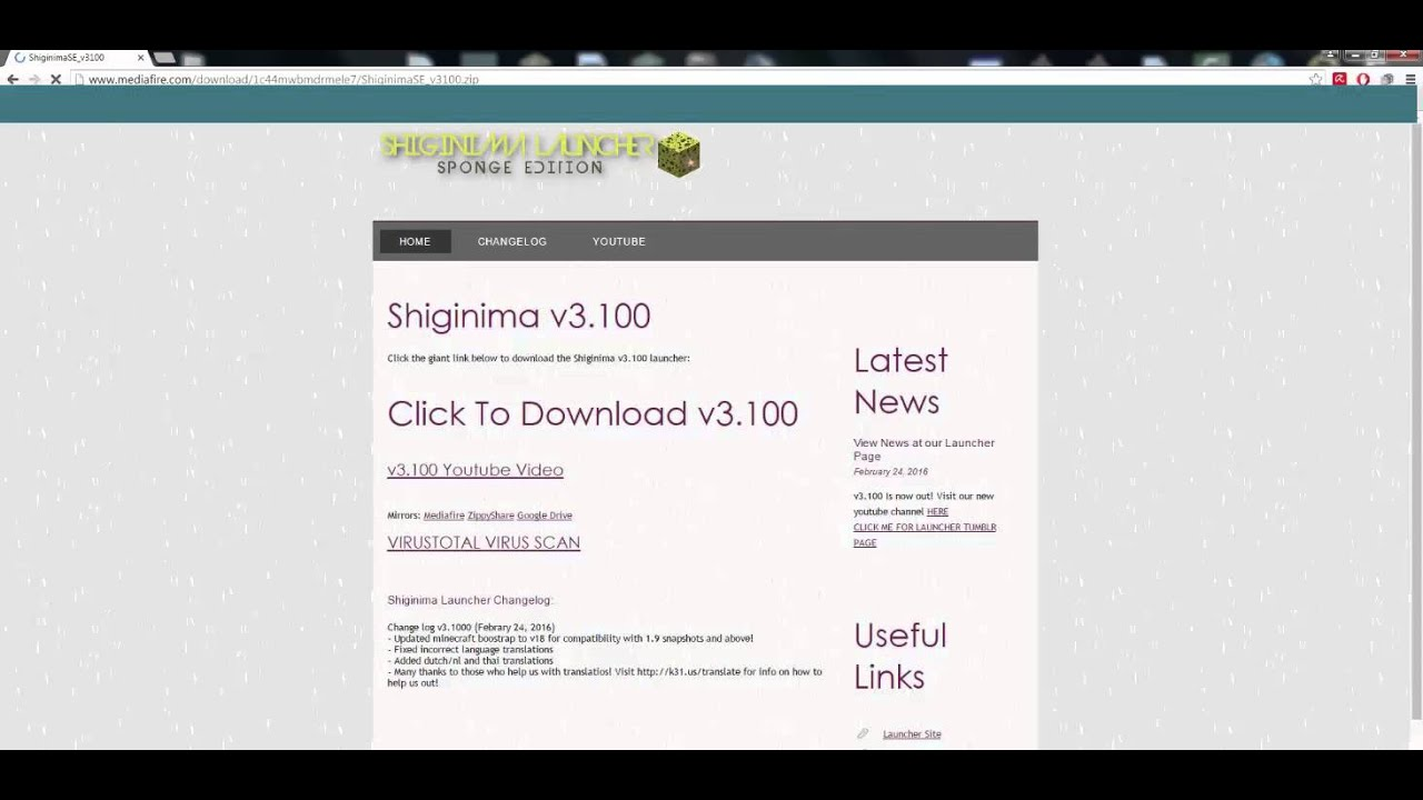 Minecraft launcher sponge edition download