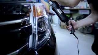 Ford Explorer V - установка світлодіодних бі-модулів Koito