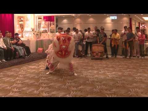 Human Mobile Stage 89A, 2015 Chau Biu Banquet, Lion Dance Kung Fu,