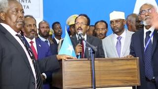 Former PM Farmajo elected new Somali President
