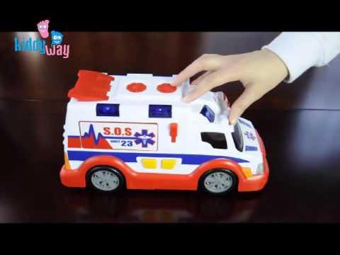 Мультики для детей: 4 машинки и скорая помощь - YouTube
