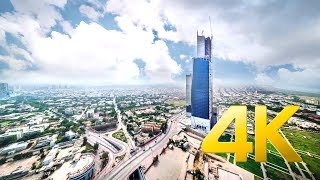 Bahria Icon Tower (Aerial View) - Karachi - 4K Ultra HD - Karachi Street View
