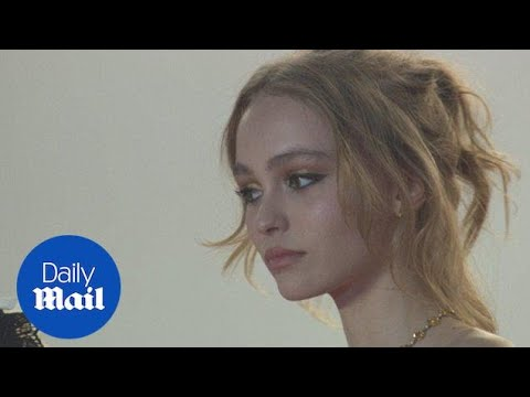 The beautiful Lily-Rose Depp commands the red carpet in Cannes - Daily Mail