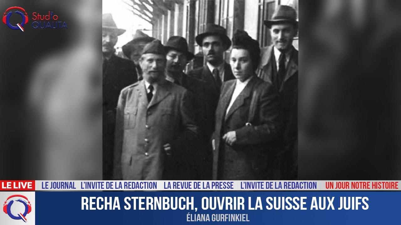Recha Sternbuch, ouvrir la Suisse aux juifs - Un jour notre Histoire du 29 avril 2021