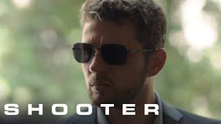 Shooter Season 3 Episode 11: Bama Sr. Threatens Swagger's Family (1/5) | Shooter on USA Network