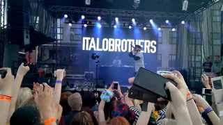 Italobrothers LIVE INTRO Welcome To The Club Seinäjoki Finland 17 7 2015