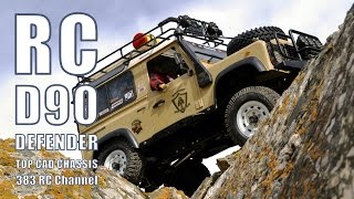 rc defender d90 travel across altai mountains part 2 extreme offroad
