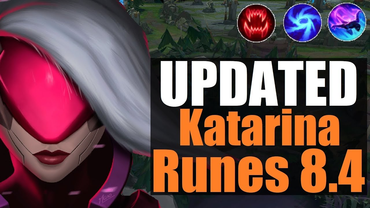 Katarina Guide 84 Updated Runes New Build Path Explained