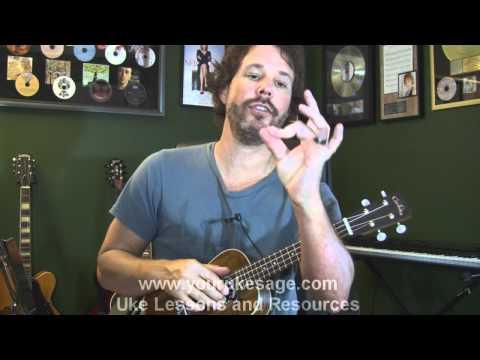 Ukulele lessons How to play bar chords on the ukulele - beginner uke lessons