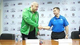 «Лада» - «Кубань». Пресс-конференция