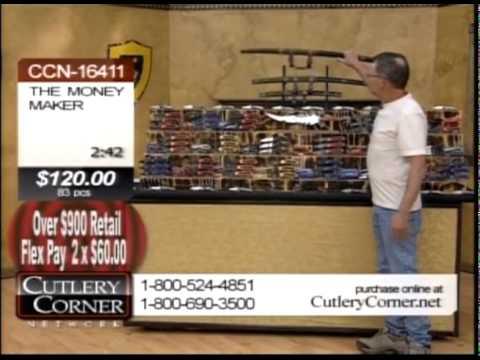 Cutlery Corner Network Money Maker Knife Show Youtube