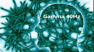 40 Hz Gamma - Pure Tone Binaural Beat - Brain's Operating System