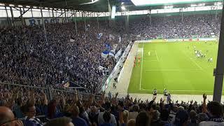 TOOOR   DAS  1 : 0   Ganz Deutschland steht ... DFB-Pokal 13.08.2017 1. FC Magdeburg vs. FC Augsburg