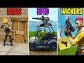 BIGGEST Noob in Fortnite! FAILS vs EPIC vs HACKERS! Fortnite Funny Moments 279 (Battle Royale)