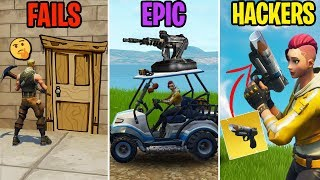 BIGGEST Noob à Fortnite! FAILS vs EPIC vs HACKERS! Fortnite Funny Moments 279 (Bataille Royale)