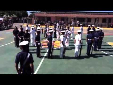 silent drill performance of maap students batch 2015