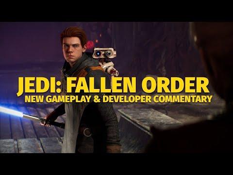 Star Wars Jedi  Fallen Order Dev Commentary |