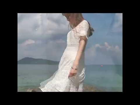 Sexy white midi dress
