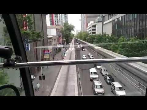 Full Monorail ride in Seattle, WA. *HD*