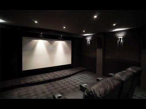 Luxury Home Theater Room  YouTube
