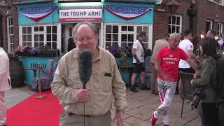 Simon Richards at the Trump Arms London July 2018
