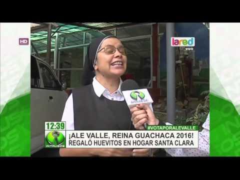 Ale Valle visitó a los niños del Hogar Santa Clara