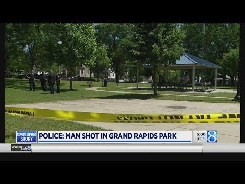 Police: Man Shot In Grand Rapids Park