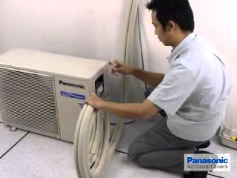 Installation Air conditoner Split Guide's - 03 Panasonic