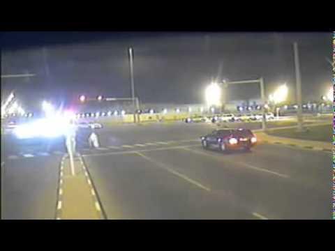 Naughty Arabs Playing with Traffic Radars, Dubai, UAE