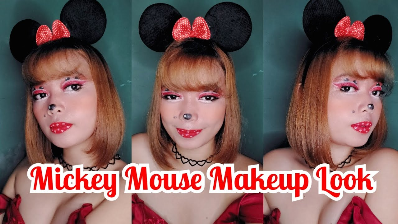 mickey mouse makeup look  youtube