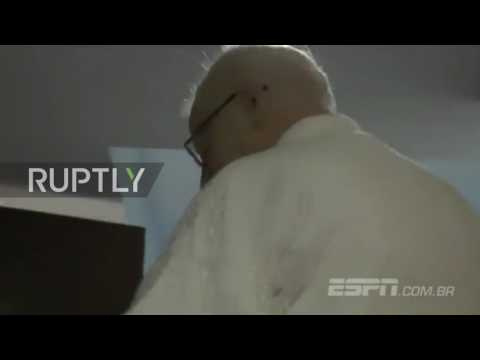 Brazil: Footage captures moment of Patrick Hickey's arrest