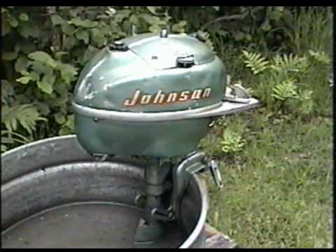 1950 Tn 26 Johnson 5hp Outboard Motor Youtube