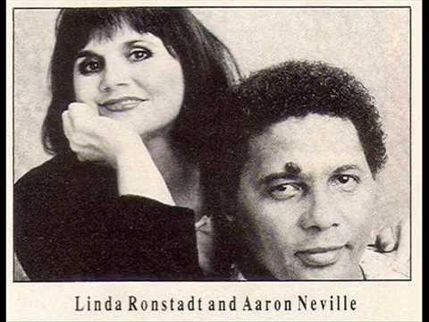 Linda Ronstadt and Aaron Neville