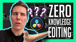 Start Editing YouTube Videos for FREE with ZERO Knowledge - Video Editing for TOTAL BEGINNERS